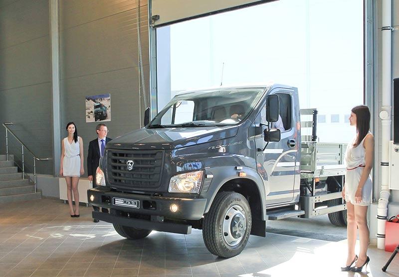 Новый автосалон ГАЗ в Истринском районе