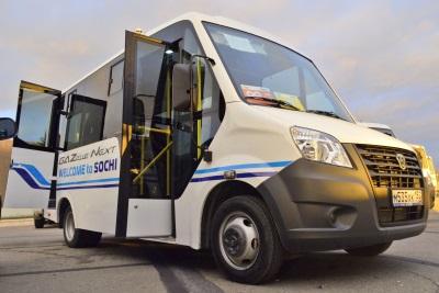 Автобус ГАЗель НЕКСТ на Олимпийских играх