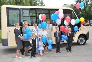 Автобус ГАЗель НЕКСТ для семьи Сафоновых