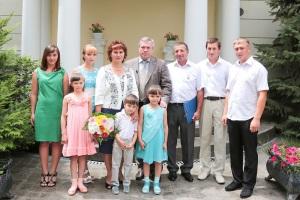 Семья Дьякончук получила Газель Бизнес